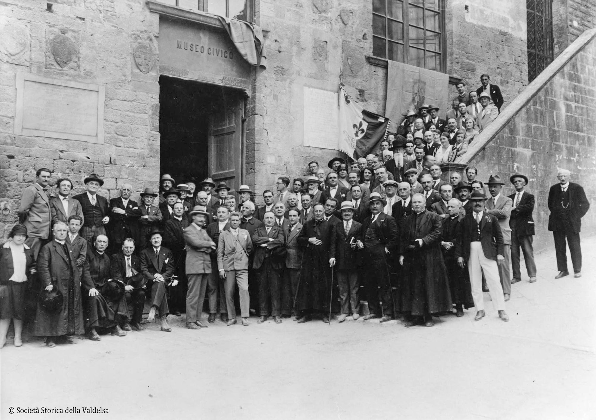 Assemblea a San Gimignano il 4 giugno 1928