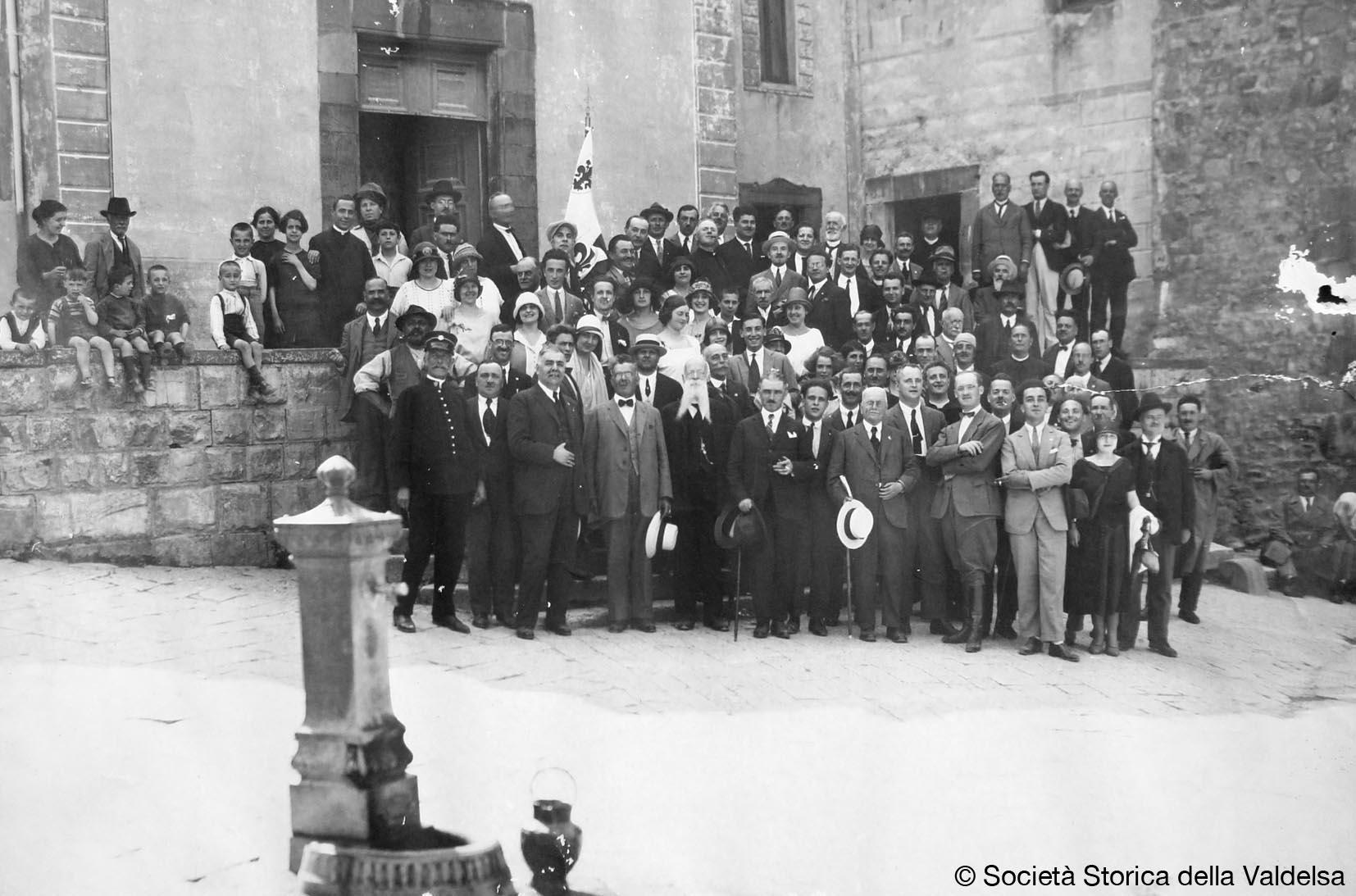 Assemblea a Castellina in Chianti il 22 Giugno 1925