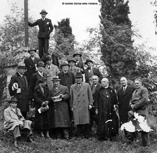 Gita a Poggibonsi il 13 ottobre 1936