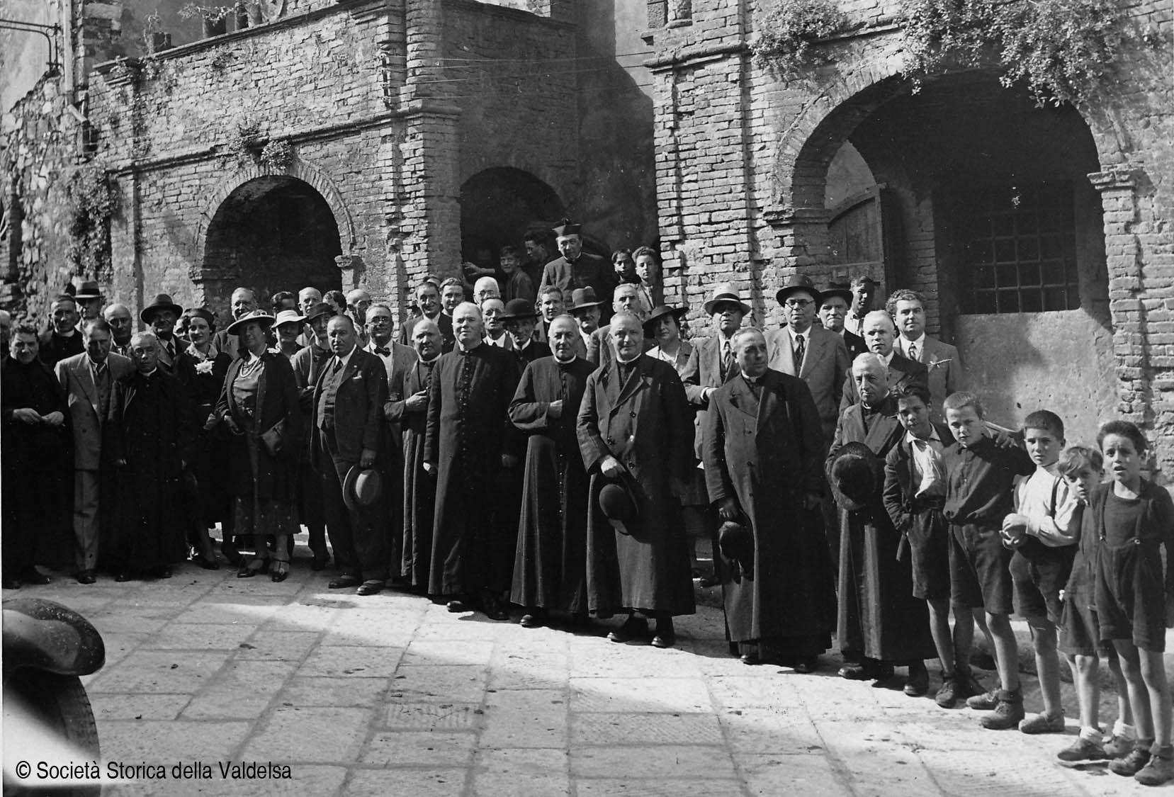 Assemblea a Gambassi l'11 ottobre 1937