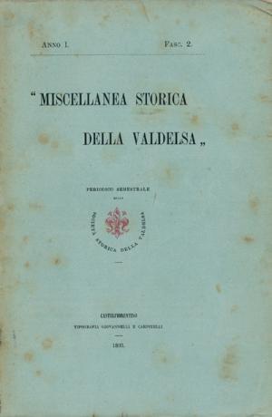Miscellanea Storica della Valdelsa anno 1893