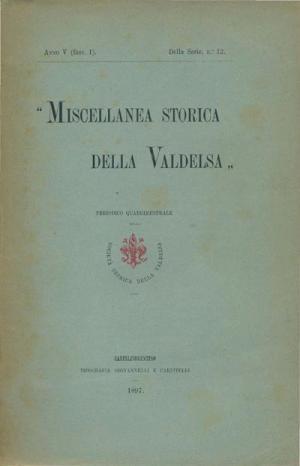 Miscellanea Storica della Valdelsa anno V 1897