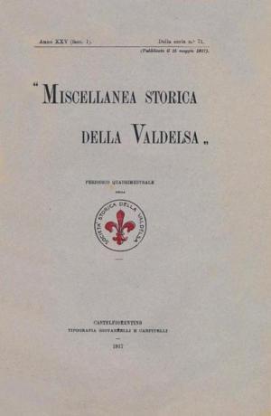 Miscellanea Storica della Valdelsa anno 1917