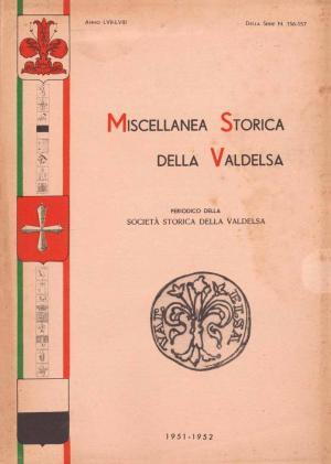 Miscellanea Storica della Valdelsa anno 1951-1952