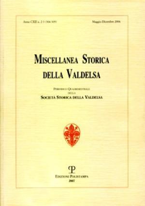 Miscellanea Storica della Valdelsa n. 304-305