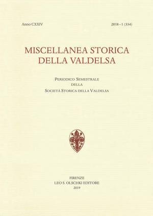 Miscellanea Storica della Valdelsa anno 2018