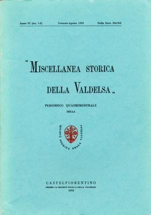 Miscellanea Storica della Valdelsa n. 264-265
