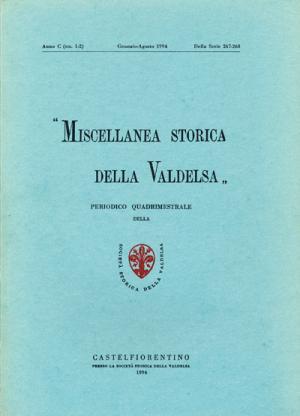 Miscellanea Storica della Valdelsa n. 267-268