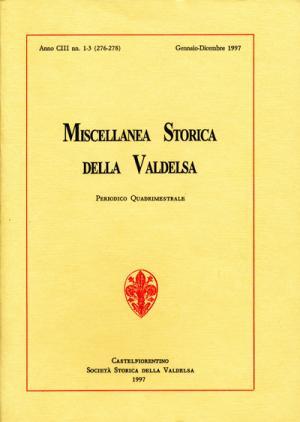 Miscellanea Storica della Valdelsa n. 276-278