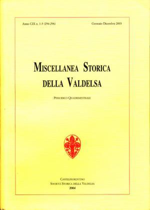 Miscellanea Storica della Valdelsa n. 294-296