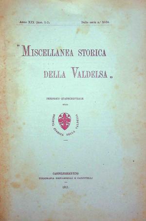 Miscellanea Storica della Valdelsa anno 1911