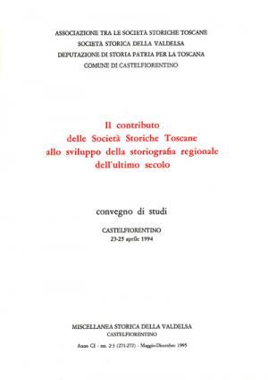 Miscellanea Storica della Valdelsa n. 271-272