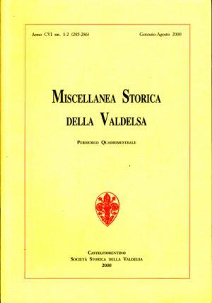 Miscellanea Storica della Valdelsa n. 285-286